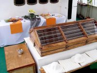 Catering preparato sulla barca