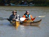 Travesias por el pantano en kayak
