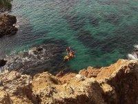 Following the Costa Brava by kayak
