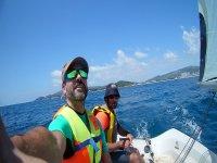 Saliendo a navegar por el Mediterraneo