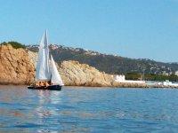 Navegando por el litoral de Girona