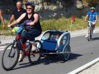 Bicis con carros portables
