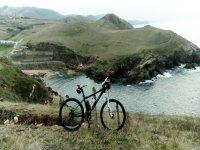 Bici en Santa Justa Bis