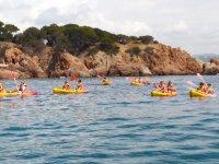 Grupo en kayak por S Agaro