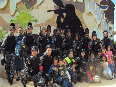 Frontera Paintball Team Building