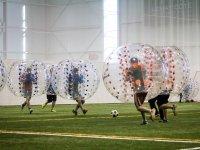 Alquiler de bubble soccer en Cadrete