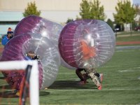 Alquiler equipo de futbol burbuja en Cadrete