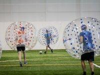 Jugar al bubble soccer en Cadrete