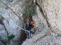 了铁索攀岩铁索攀岩在运河德尔斯Micos