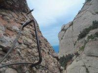 铁索攀岩蒙特塞拉特