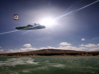 Kitesurf al sole