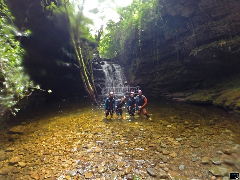Canyoning in Aján
