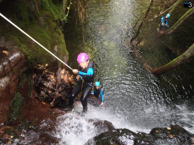 Medium Level Canyoning, Aján + Video GoPro