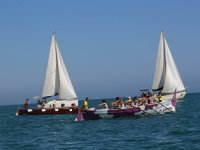 Velas y canoas