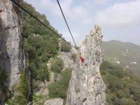 Ziplining of Guacin
