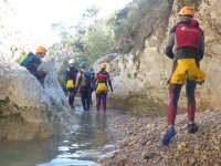 Canyoning in Juzcar