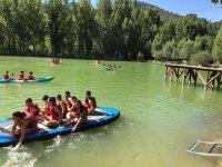 Navegando en tabla de sup en el camp
