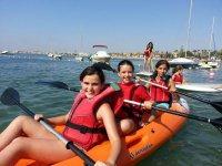 Aventura nautica en el campamento