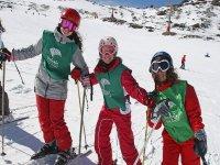 esquiadoras