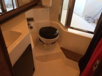 Toilet of the Cantabrian boat