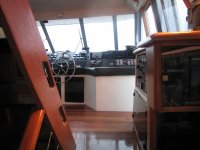 Boat helm and controls