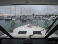Views of the Marina de Santander from the boat