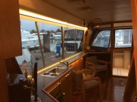 Boat kitchen in Cantabria
