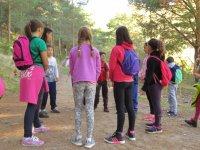Juegos durante el campamento