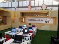 Puestos del taller de robotica