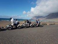 Ruta en quad junto al Atlantico
