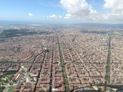 10 Minute Helicopter Flight. Barcelona SkyTour