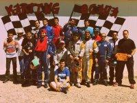 Campeones en el podio