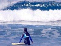 hacia la ola