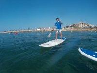 Paddle Surf en la costa
