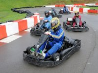 Libera tension en los karts