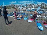 Actividad de surf