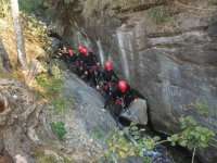 Canyoning for farewells