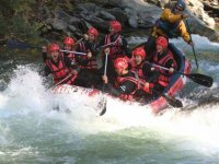 Rafting descent for farewells