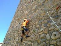 Rocodromo de facil instalacion sobre muros