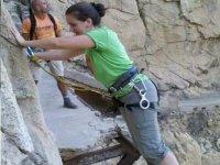 铁索攀岩铁索攀岩在塞维利亚