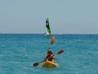 Practicar kayak en Tarragona