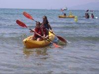 Kayak para niños en Tarragona