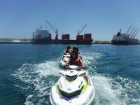 Ruta en moto nautica hacia Carboneras