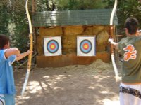 Practice archery in Jaen