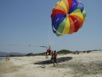 Come and practice parasailing in Tarragona