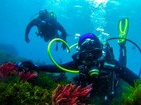 Submarinistas durante la inmersion