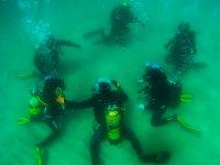 Reunion bajo el agua