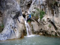 Initiation to canyoning in Granada