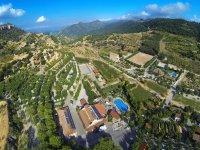 Aerial view Serra de Prades