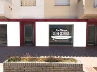 Surf school facilities